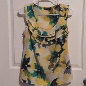 The limited watercolor blouse